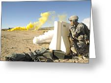 U.s. Army Specialist Calls In For An Greeting Card