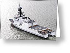 U.s. Coast Guard Cutter Stratton Greeting Card