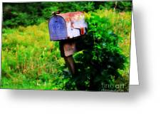 U.s. Mail 2 Greeting Card