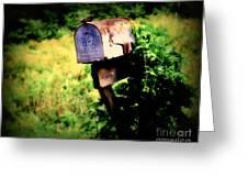 U.s. Mail Greeting Card
