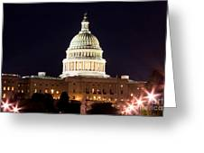 Us Senate Greeting Card