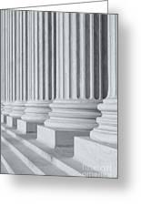 Us Supreme Court Building IIi Greeting Card