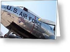 Usaf Douglas Dc-3 Transport Aircraft Greeting Card
