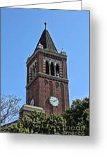 Usc's Clock Tower Greeting Card