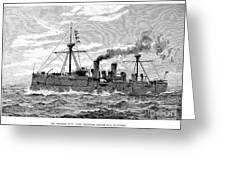 Uss Baltimore, 1890 Greeting Card