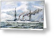 Uss Boston, 1890 Greeting Card