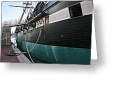 Uss Constellation 1854 Greeting Card