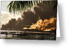 U S S Shaw Pearl Harbor December 7 1941 Greeting Card