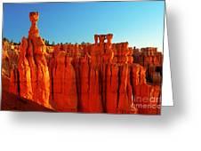 Utah - Thor's Hammer 3 Greeting Card by Terry Elniski