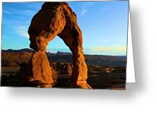 Utah Landmark Greeting Card
