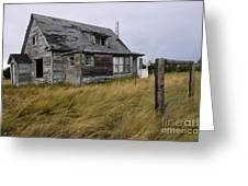 Vacant House Greeting Card