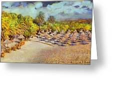Vai Forest Greeting Card