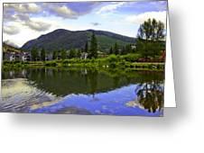 Vail Reflections 6 Greeting Card