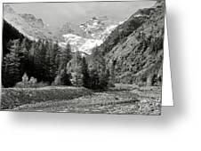 Val Di Cogne In The Italian Alps Greeting Card