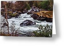 Valdolla River Greeting Card