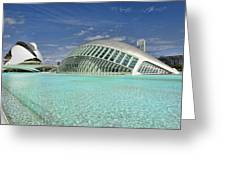Valencia Spain Greeting Card