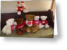 Valentine Bears  Greeting Card