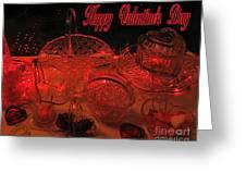 Valentine Crystal  Greeting Card