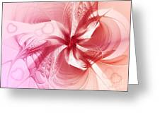 Valentine Flower Greeting Card