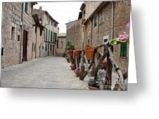 Valldemossa Greeting Card