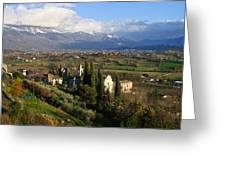 Valle Di Comino Greeting Card