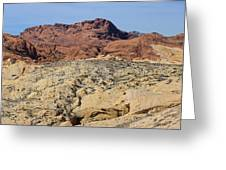 Valley Of Fire 4 Of 4 Greeting Card