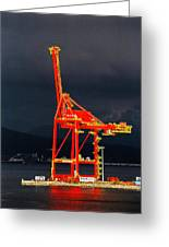Vancouver, Bc - Harbour Greeting Card