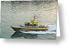 Vancouver Harbour Pilot Greeting Card
