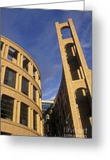 Vancouver Library Building Greeting Card