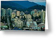 Vancouver Rooms With A View Greeting Card