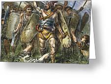 Vandal Invasion Of Rome Greeting Card