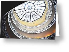 Vatican Staircase Greeting Card