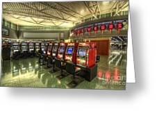 Vegas Airport 2.0 Greeting Card