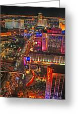 Vegas Strip Greeting Card