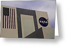 Vehicle Assembly Building Greeting Card