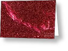 Veil Nebula Greeting Card