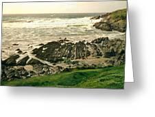 Velencia Island Shore Greeting Card