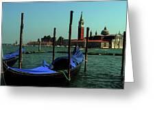 Venetian Gandola Greeting Card