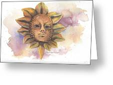 Venetian Mask IIi Greeting Card
