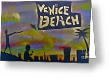 Venice Beach Life Greeting Card