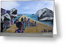 Venice Beach Wall Art 4 Greeting Card