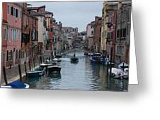 Venice Commuter Greeting Card