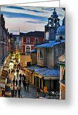 Venice From Ponte Di Rialto Greeting Card