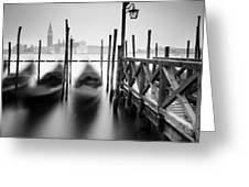 Venice Gondolas II Greeting Card