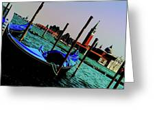 Venice In Color Greeting Card