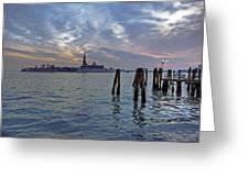 Venice San Giorgio Maggiore Greeting Card