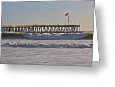 Ventura Pier Greeting Card