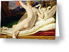 Venus Rising From Her Couch Greeting Card