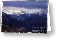Vercors - France Greeting Card