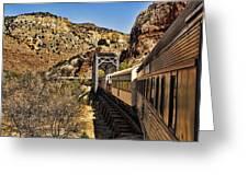 Verde Valley Railway Greeting Card
